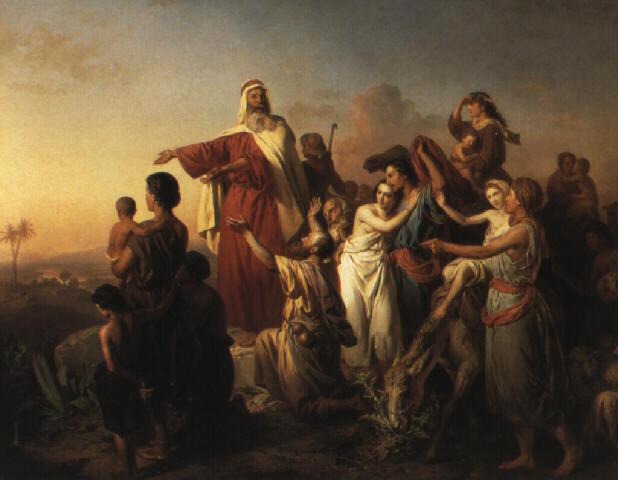 Molnár_Moses_leading_the_Israelites_out_of_Egypt_1861